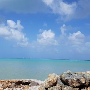 Baie de Marigot et sa superbe eau cristalline