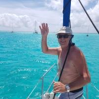 Coucou, nous sommes dans les Tobaco Cays, un véritable paradis.